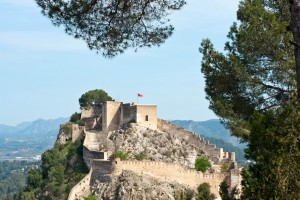 Xativa Castle, not only has been beautifully restored, but it looks out across the town and valley.